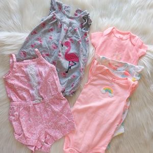 Carter's baby girl summer lot, size 3m.     #0705